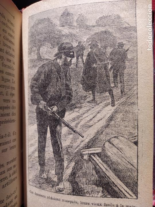 Libros antiguos: Volumen con varias obras de sherlock Holmes, de Conan Doyle. Edicion francesa de 1905, ed. EDP. - Foto 20 - 241848090