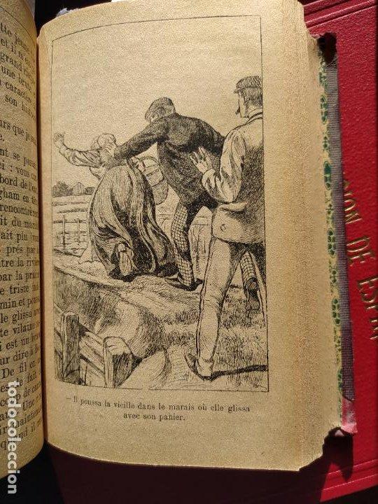 Libros antiguos: Volumen con varias obras de sherlock Holmes, de Conan Doyle. Edicion francesa de 1905, ed. EDP. - Foto 22 - 241848090
