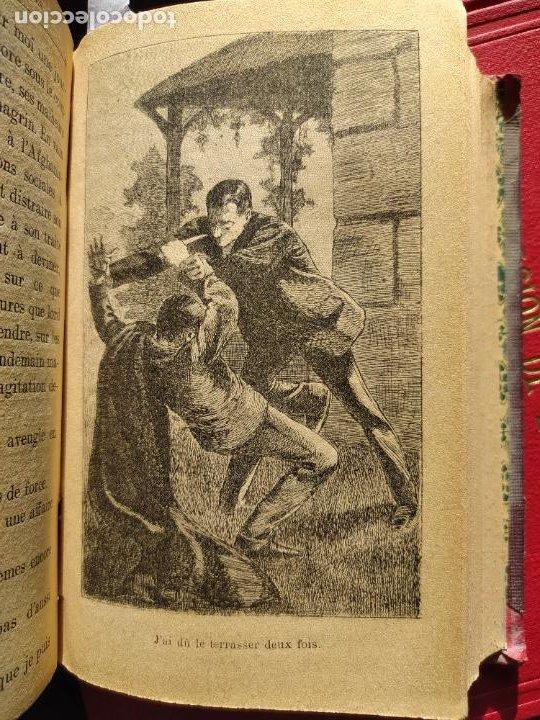 Libros antiguos: Volumen con varias obras de sherlock Holmes, de Conan Doyle. Edicion francesa de 1905, ed. EDP. - Foto 23 - 241848090