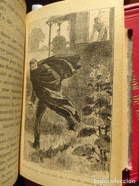 Libros antiguos: Volumen con varias obras de sherlock Holmes, de Conan Doyle. Edicion francesa de 1905, ed. EDP. - Foto 25 - 241848090
