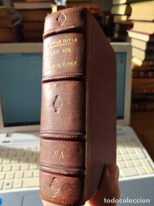 VOLUMEN CON VARIAS OBRAS DE SHERLOCK HOLMES, DE CONAN DOYLE. EDICION FRANCESA DE 1905, ED. EDP. (Libros antiguos (hasta 1936), raros y curiosos - Literatura - Terror, Misterio y Policíaco)