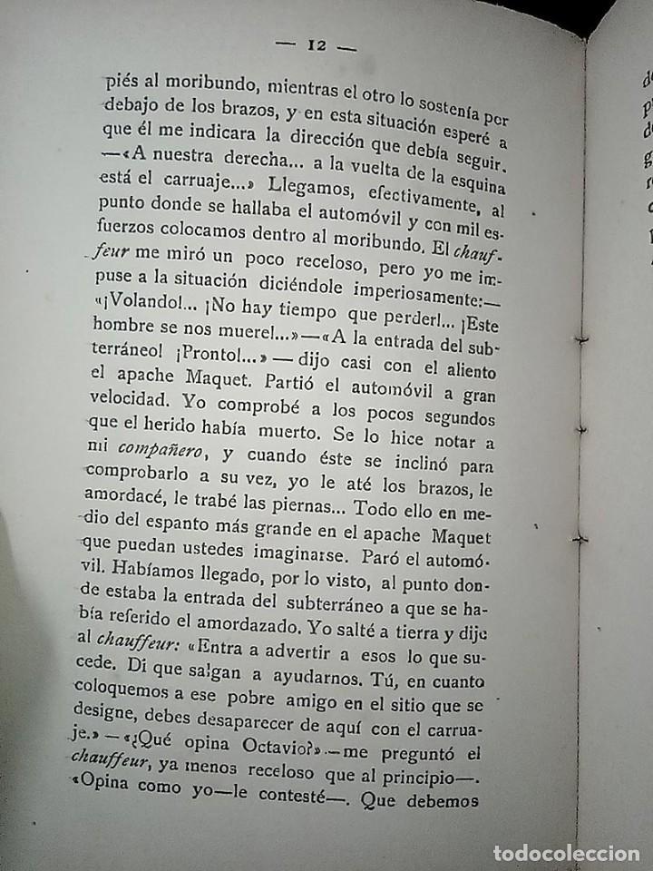 Libros antiguos: AVENTURAS DEL DETECTIVE WILLIAM BRUNNING 3, OLGA LA TRAIDORA. FELIPE PÉREZ CAPO. ¿ PASTICHE HOLMES ? - Foto 12 - 42162220