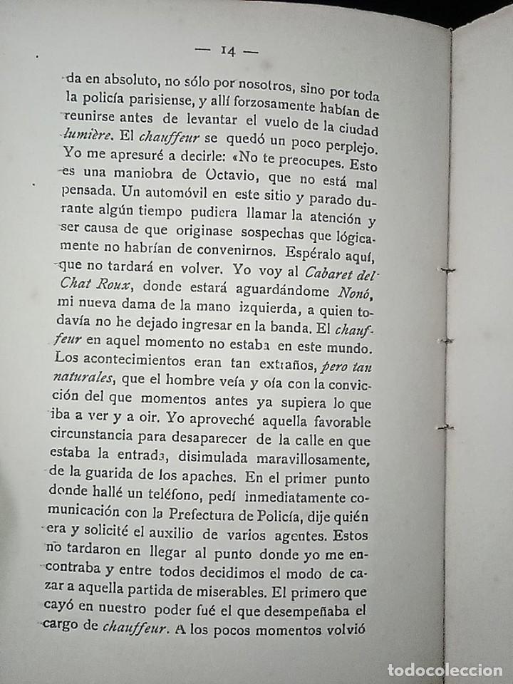 Libros antiguos: AVENTURAS DEL DETECTIVE WILLIAM BRUNNING 3, OLGA LA TRAIDORA. FELIPE PÉREZ CAPO. ¿ PASTICHE HOLMES ? - Foto 14 - 42162220