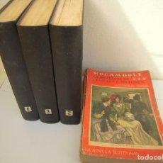 Libros antiguos: COLECCION COMPLETA DE ROCAMBOLE LA NOVELA ILUSTRADA. Lote 251944080