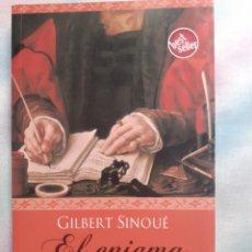 Libros antiguos: EL ENIGMA DE FLANDES - GILBERT SINOUÉ. Lote 258044520