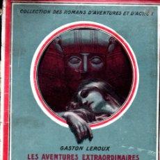 Libros antiguos: GASTON LEROUX - ROULETABILLE LE SECRET DE MLLE STANGERSON (LAFITTE, 1920). Lote 262434025