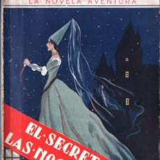 Libros antiguos: CECIL HODGE : EL SECRETO DE LAS NOCHES DE SANGRE (NOVELA AVENTURA, S.F.). Lote 262495750