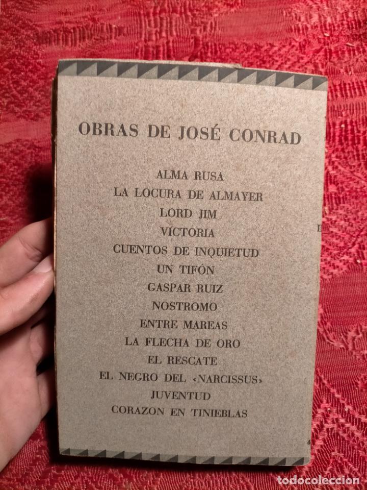 Libros antiguos: Cuentos de inquietud por José Conrad . montaner y simon s.a. barcelona - Foto 2 - 262595610
