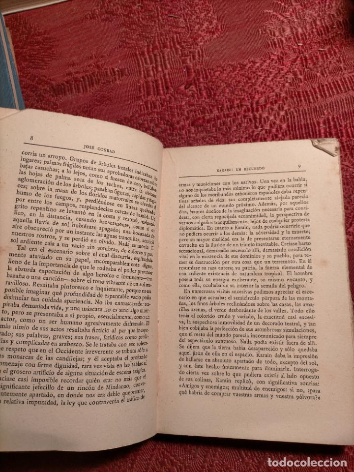 Libros antiguos: Cuentos de inquietud por José Conrad . montaner y simon s.a. barcelona - Foto 7 - 262595610