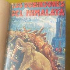 Libros antiguos: LA NOVELA DE AVENTURAS. 2 TÍTULOS. ENCUADERNADOS.. Lote 263265085