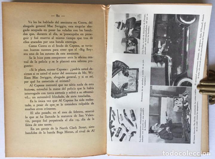 Libros antiguos: DOS MESES CON LOS BANDIDOS DE CHICAGO. - LONDON, Geo. - Foto 3 - 123209634