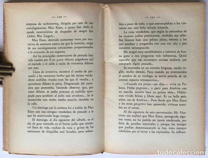 Libros antiguos: DOS MESES CON LOS BANDIDOS DE CHICAGO. - LONDON, Geo. - Foto 4 - 123209634