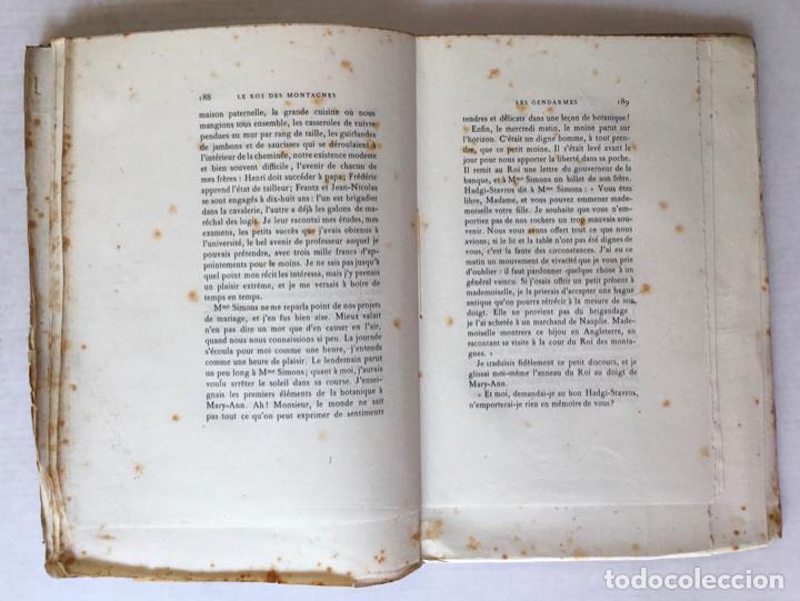 Libros antiguos: LE ROI DES MONTAGNES. - ABOUT, Edmond. - Foto 7 - 267054284