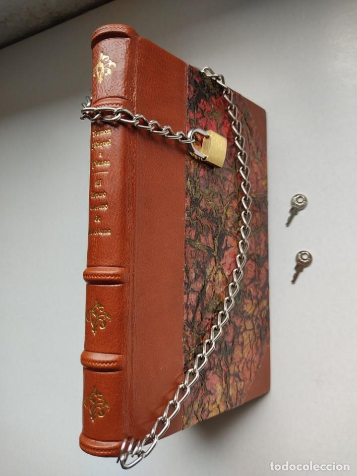 ¡¡ LIBRO ENCADENADO ARTESANAL !! EL LIBRERO ASESINO DE BARCELONA (1991)/ RAMÓN MIQUEL I PLANAS (Libros antiguos (hasta 1936), raros y curiosos - Literatura - Terror, Misterio y Policíaco)