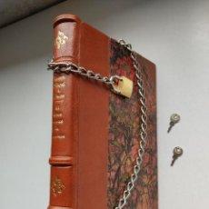 Libros antiguos: ¡¡ LIBRO ENCADENADO ARTESANAL !! EL LIBRERO ASESINO DE BARCELONA (1991)/ RAMÓN MIQUEL I PLANAS. Lote 267406179