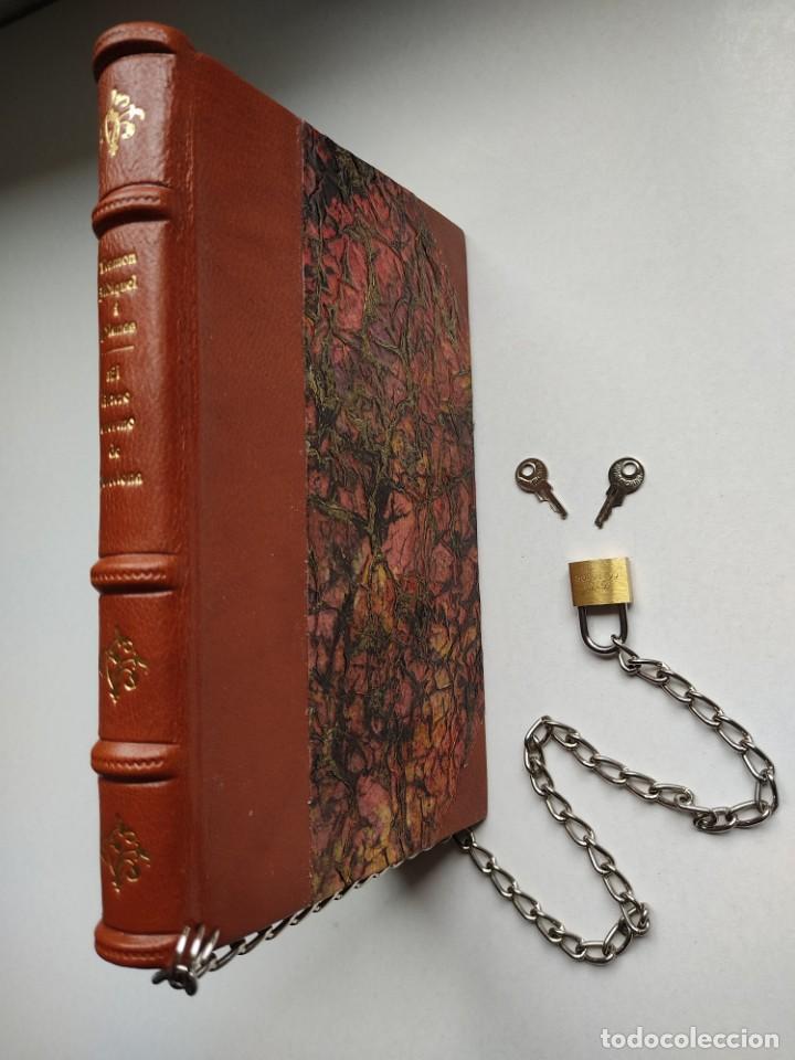 Libros antiguos: ¡¡ Libro encadenado artesanal !! El librero asesino de Barcelona (1991)/ Ramón Miquel i Planas - Foto 5 - 267406179