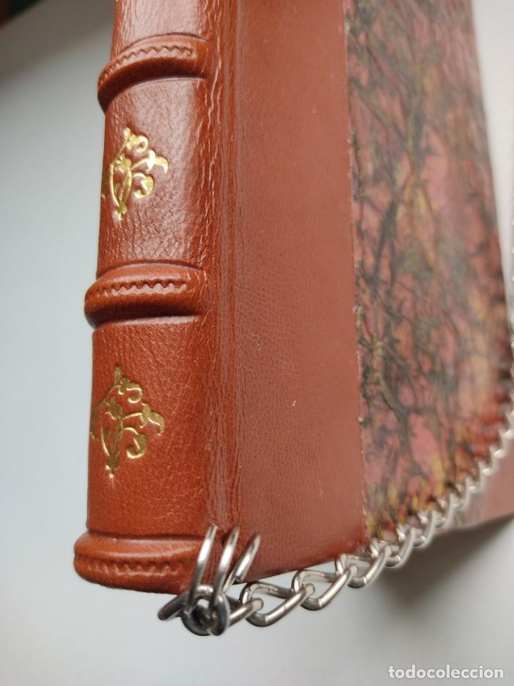 Libros antiguos: ¡¡ Libro encadenado artesanal !! El librero asesino de Barcelona (1991)/ Ramón Miquel i Planas - Foto 8 - 267406179