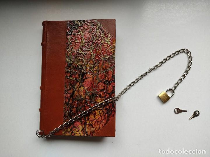 Libros antiguos: ¡¡ Libro encadenado artesanal !! El librero asesino de Barcelona (1991)/ Ramón Miquel i Planas - Foto 9 - 267406179