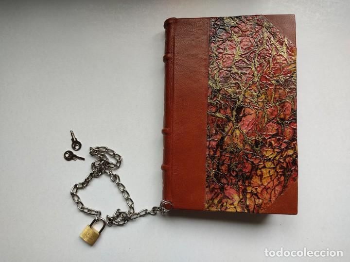 Libros antiguos: ¡¡ Libro encadenado artesanal !! El librero asesino de Barcelona (1991)/ Ramón Miquel i Planas - Foto 10 - 267406179
