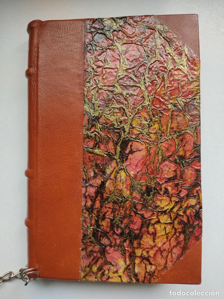 Libros antiguos: ¡¡ Libro encadenado artesanal !! El librero asesino de Barcelona (1991)/ Ramón Miquel i Planas - Foto 11 - 267406179