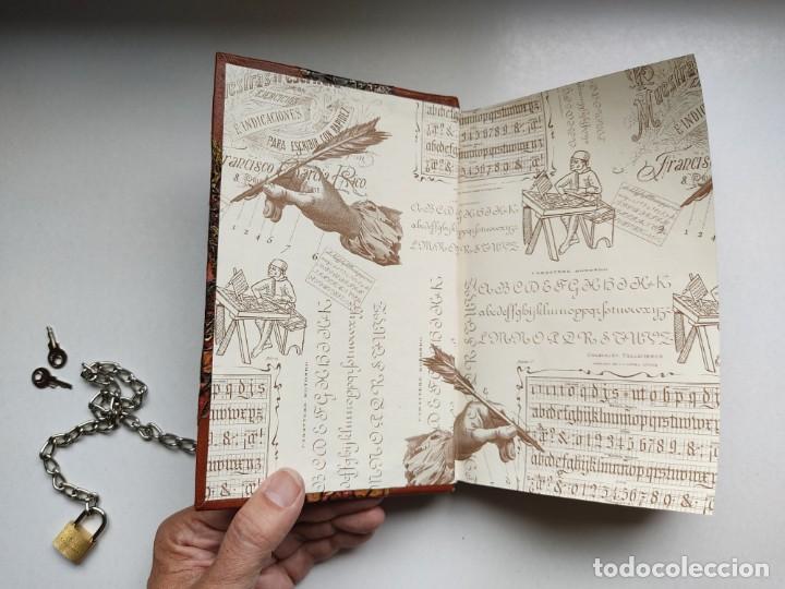 Libros antiguos: ¡¡ Libro encadenado artesanal !! El librero asesino de Barcelona (1991)/ Ramón Miquel i Planas - Foto 12 - 267406179