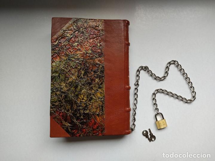 Libros antiguos: ¡¡ Libro encadenado artesanal !! El librero asesino de Barcelona (1991)/ Ramón Miquel i Planas - Foto 17 - 267406179