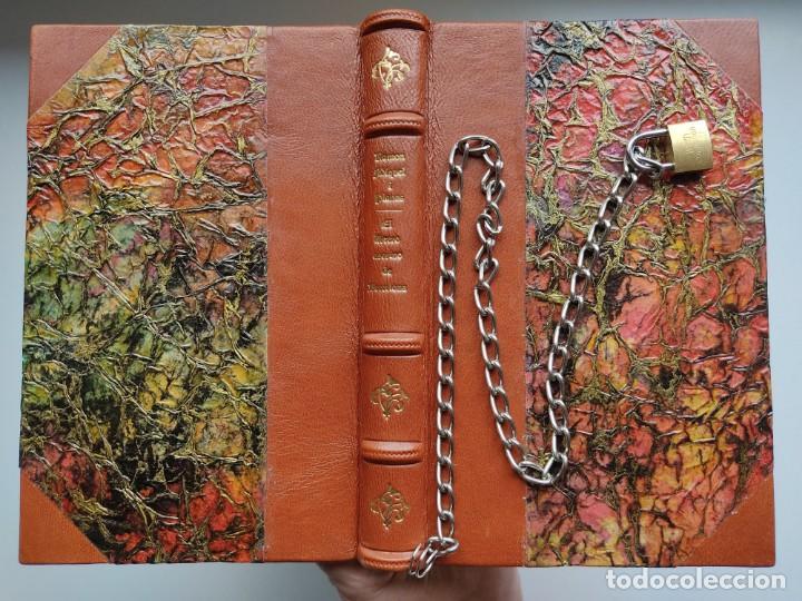 Libros antiguos: ¡¡ Libro encadenado artesanal !! El librero asesino de Barcelona (1991)/ Ramón Miquel i Planas - Foto 18 - 267406179