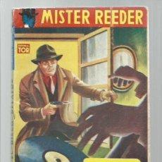 Libros antiguos: MISTER REEDER 93: EL DISCO DELATOR, 1957, TOR (ARGENTINA), BUEN ESTADO. COLECCIÓN A.T.. Lote 268614784