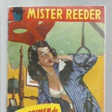 Libros antiguos: MISTER REEDER 54: EL CRIMEN DE BAYSWATER, 1957, TOR (ARGENTINA), BUEN ESTADO. COLECCIÓN A.T.. Lote 268614989