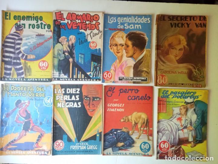 LOTE SEXTON BLAKE Y NOVELA AVENTURA 1934 1935 MÁS DE 50 TÍTULOS (Libros antiguos (hasta 1936), raros y curiosos - Literatura - Terror, Misterio y Policíaco)