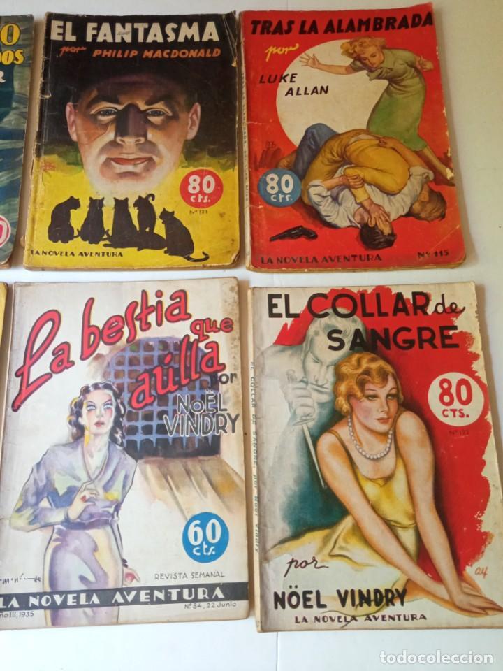 Libros antiguos: Lote Sexton Blake y Novela Aventura 1934 1935 más de 50 títulos - Foto 5 - 268846889