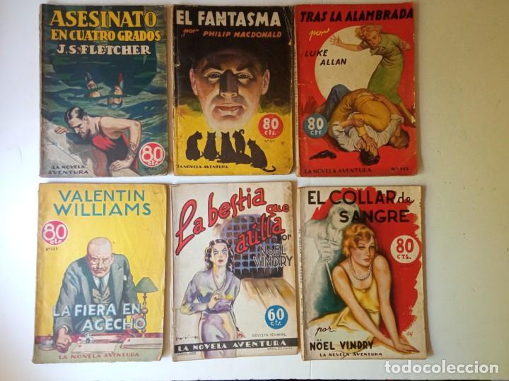 Libros antiguos: Lote Sexton Blake y Novela Aventura 1934 1935 más de 50 títulos - Foto 6 - 268846889