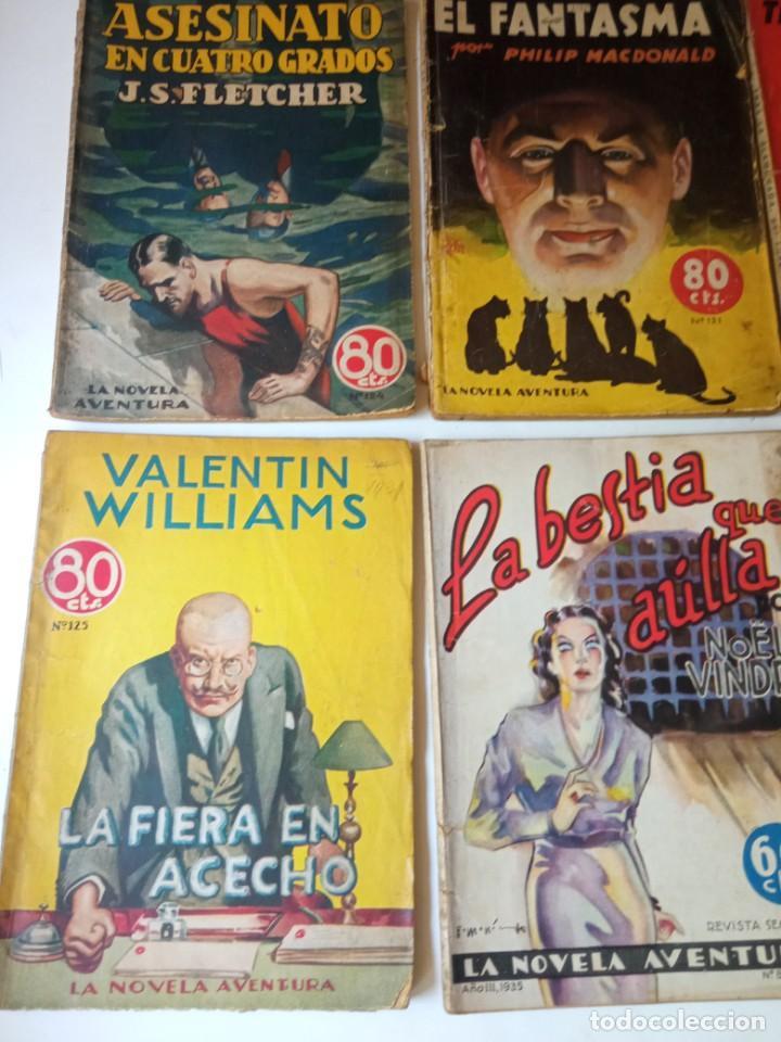 Libros antiguos: Lote Sexton Blake y Novela Aventura 1934 1935 más de 50 títulos - Foto 7 - 268846889