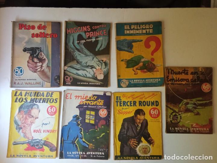 Libros antiguos: Lote Sexton Blake y Novela Aventura 1934 1935 más de 50 títulos - Foto 13 - 268846889
