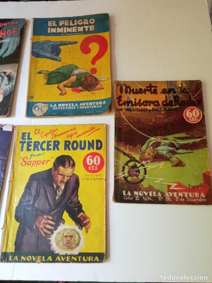 Libros antiguos: Lote Sexton Blake y Novela Aventura 1934 1935 más de 50 títulos - Foto 14 - 268846889
