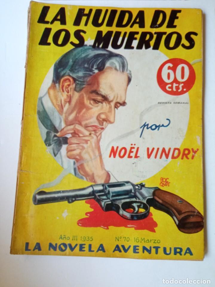 Libros antiguos: Lote Sexton Blake y Novela Aventura 1934 1935 más de 50 títulos - Foto 15 - 268846889