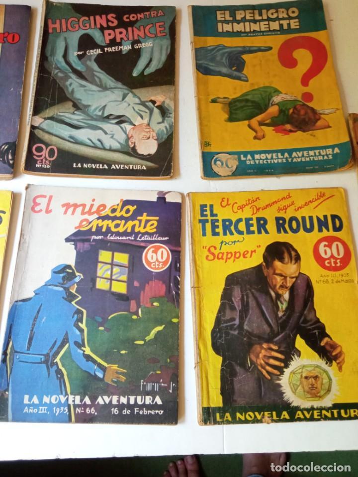 Libros antiguos: Lote Sexton Blake y Novela Aventura 1934 1935 más de 50 títulos - Foto 17 - 268846889