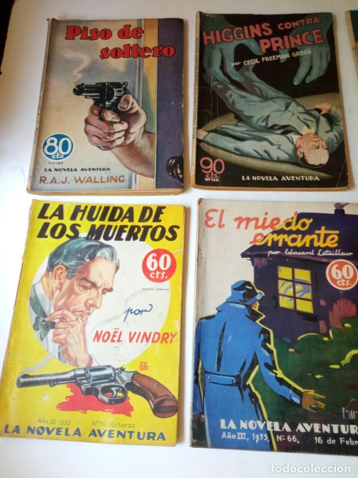 Libros antiguos: Lote Sexton Blake y Novela Aventura 1934 1935 más de 50 títulos - Foto 18 - 268846889