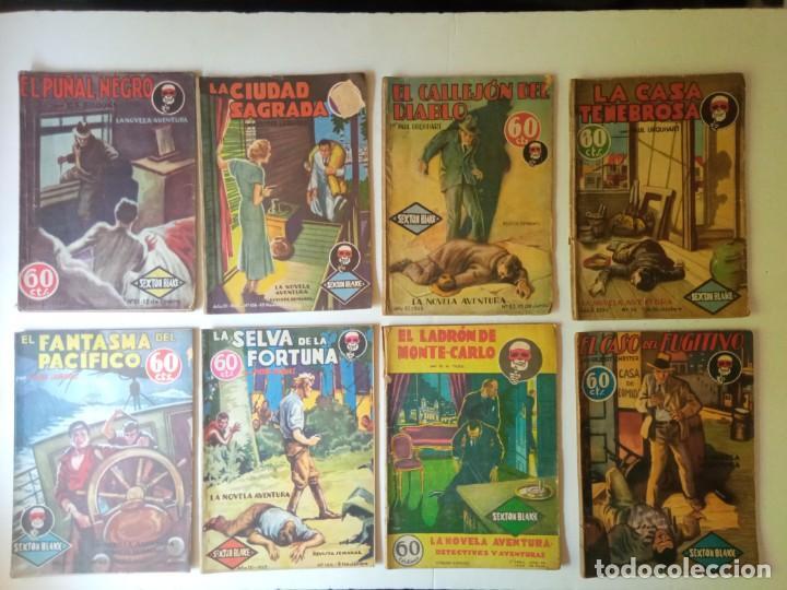 Libros antiguos: Lote Sexton Blake y Novela Aventura 1934 1935 más de 50 títulos - Foto 19 - 268846889