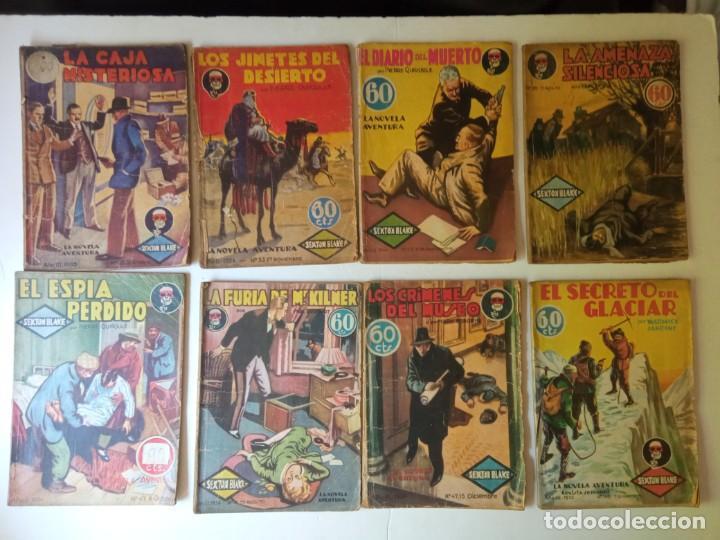 Libros antiguos: Lote Sexton Blake y Novela Aventura 1934 1935 más de 50 títulos - Foto 25 - 268846889