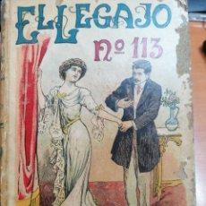 Libros antiguos: E. GABORIAU. EL LEGAJO 113. CALLEJA.. Lote 269678763