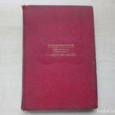 Libros antiguos: LOS HIJOS DEL DELITO EMILIO RICHEBOURG EDIT. RAMÓN SOPENA HACIA 1928. Lote 269851628