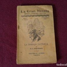 Libros antiguos: 1934, LA BARAJA FATÍDICA, R. L. STEVENSON, ED. GUERRI, VALENCIA (E). Lote 270685818