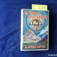 Libros antiguos: EL VALLE DEL TERROR SHERLOCK HOLMES - ARTHUR CONAN DOYLE - EDICIÓN 1928 - SABATÉ - IBERIA. Lote 275889618
