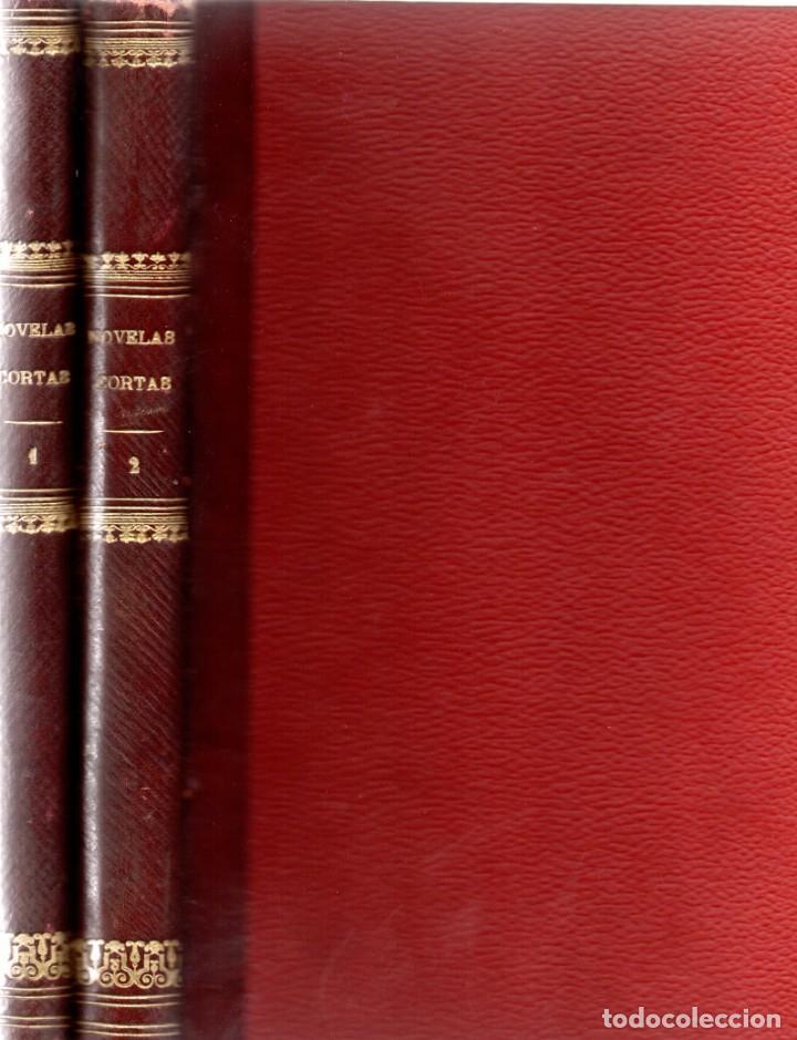 NOVELAS CORTAS 1 Y 2 - MAX PEMBERTON, LUIS TRACY, Y MÁS - BIBLIOTECA ALREDEDOR DEL MUNDO 1899 (Libros antiguos (hasta 1936), raros y curiosos - Literatura - Terror, Misterio y Policíaco)