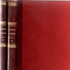 Libros antiguos: NOVELAS CORTAS 1 Y 2 - MAX PEMBERTON, LUIS TRACY, Y MÁS - BIBLIOTECA ALREDEDOR DEL MUNDO 1899. Lote 287826343