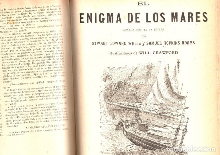 Libros antiguos: NOVELAS CORTAS 1 y 2 - MAX PEMBERTON, LUIS TRACY, Y MÁS - BIBLIOTECA ALREDEDOR DEL MUNDO 1899 - Foto 3 - 287826343