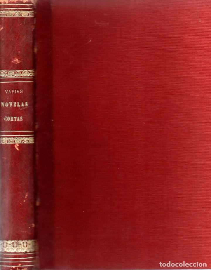 VARIAS NOVELAS CORTAS, MISTERIO Y POLICIACAS - BIBLIOTECA ALREDEDOR DEL MUNDO 1899 (Libros antiguos (hasta 1936), raros y curiosos - Literatura - Terror, Misterio y Policíaco)