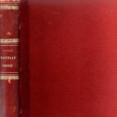 Libros antiguos: VARIAS NOVELAS CORTAS, MISTERIO Y POLICIACAS - BIBLIOTECA ALREDEDOR DEL MUNDO 1899. Lote 287832243