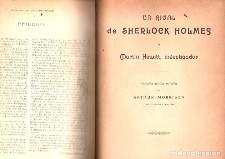 Libros antiguos: VARIAS NOVELAS CORTAS, MISTERIO Y POLICIACAS - BIBLIOTECA ALREDEDOR DEL MUNDO 1899 - Foto 3 - 287832243
